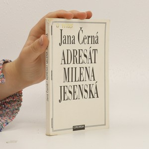 náhled knihy - Adresát Milena Jesenská