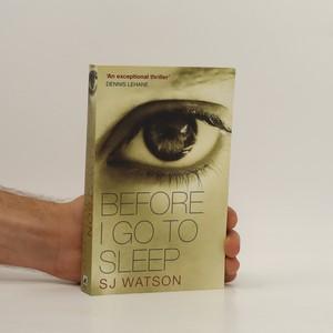 náhled knihy - Before I go to sleep
