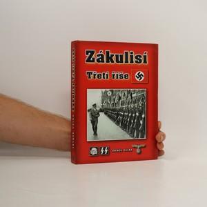 náhled knihy - Zákulisí Třetí říše
