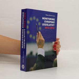náhled knihy - Monitoring evropské legislativy 2013-2014