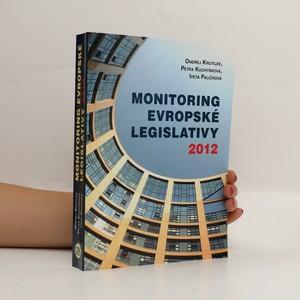náhled knihy - Monitoring evropské legislativy 2012