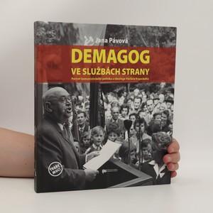 náhled knihy - Demagog ve službách strany : portrét komunistického politika a ideologa Václava Kopeckého