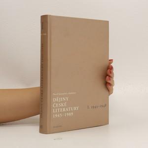 náhled knihy - Dějiny české literatury I. 1945-1948 + CD