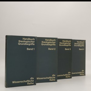 náhled knihy - Handbuch theologischer Grundbegriffe 1. - 4. díl (4 svazky, komplet, viz foto)