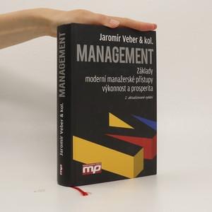 náhled knihy - Management : základy, moderní manažerské přístupy, výkonnost a prosperita