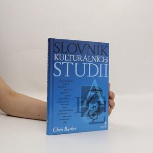 náhled knihy - Slovník kulturálních studií
