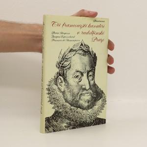 náhled knihy - Tři francouzští kavalíři v rudolfínské Praze