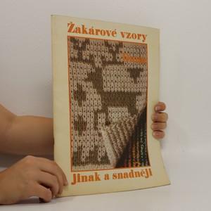 náhled knihy - Žakárové vzory jinak a snadněji