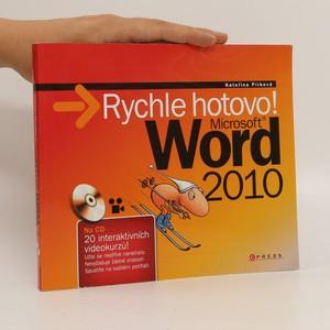 náhled knihy - Microsoft Word 2010 : rychle hotovo!