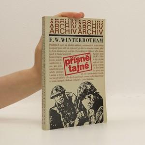 náhled knihy - Přísně tajné