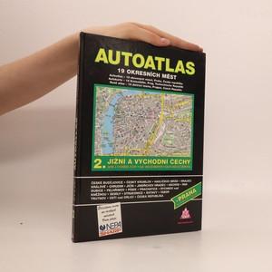 náhled knihy - Autoatlas 2, Jižní a východní Čechy + Praha - plán města Jižní a východní Čechy + Praha - plán města