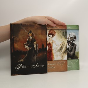 náhled knihy - Příběhy Impéria- 3 svazky (Příběhy Ipéria, Rukověť mága, Kniha dobrodružství) + desková hra