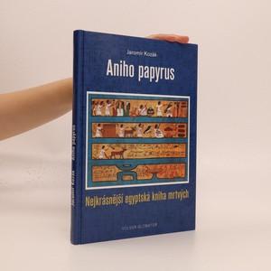 náhled knihy - Aniho papyrus : nejkrásnější egyptská kniha mrtvých