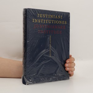 náhled knihy - Justiniánské Instituce. Iustiniani Institutiones