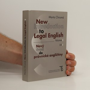 náhled knihy - New introduction to legal English. Volume I