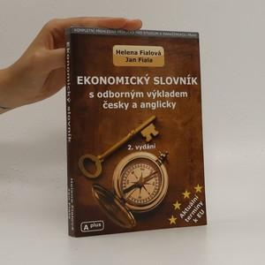 náhled knihy - Ekonomický slovník s odborným výkladem česky a anglicky