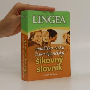 náhled knihy - Španělsko-český, česko-španělský šikovný slovník