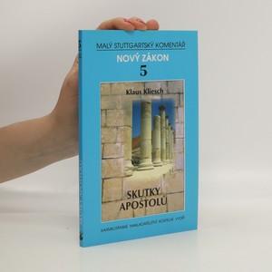 náhled knihy - Skutky apoštolů