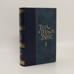 náhled knihy - Tisíc a jedna noc. Díl první