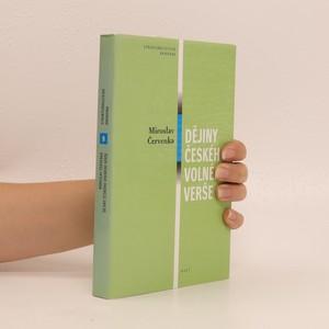 náhled knihy - Dějiny českého volného verše