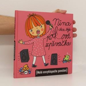 náhled knihy - Nina chce být rocková zpěvačka (malá encyklopedie povolání)