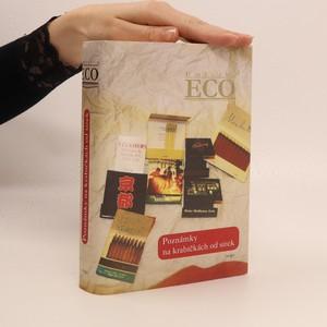 náhled knihy - Poznámky na krabičkách od sirek