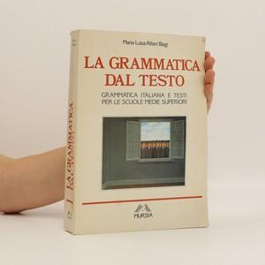 náhled knihy - La grammatica dal testo : per le scuole medie superiori
