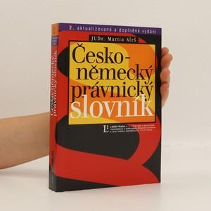 náhled knihy - Česko-německý právnický slovník
