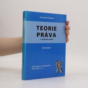 náhled knihy - Teorie práva