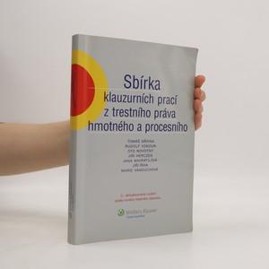 náhled knihy - Sbírka klauzurních prací z trestního práva hmotného a procesního