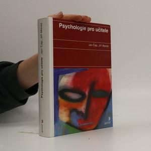 náhled knihy - Psychologie pro učitele