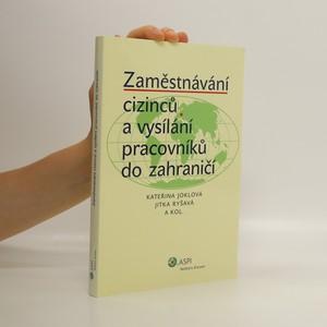 náhled knihy - Zaměstnávání cizinců a vysílání pracovníků do zahraničí