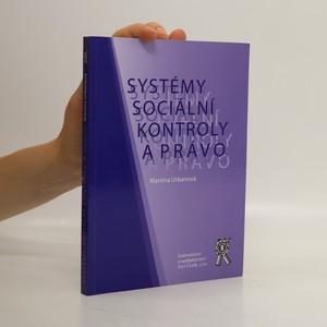 náhled knihy - Systémy sociální kontroly a právo