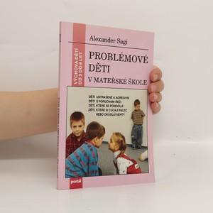 náhled knihy - Problémové děti v mateřské škole
