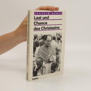 náhled knihy - Last und Chance des Christseins