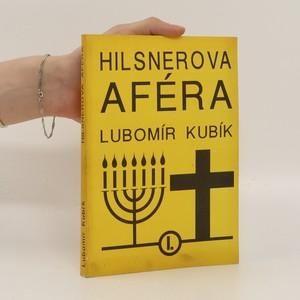 náhled knihy - Hilsnerova aféra