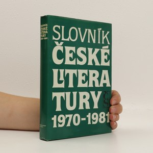 náhled knihy - Slovník české literatury 1970-1981
