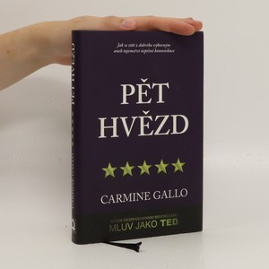 náhled knihy - Pět hvězd : jak se stát z dobrého výborným, aneb, tajemství úspěšné komunikace