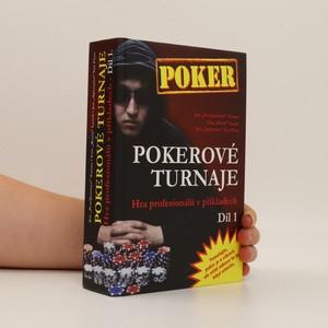 náhled knihy - Pokerové turnaje. hra profesionálů v příkladech. 1. díl