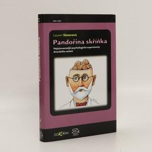 náhled knihy - Pandořina skříňka : Nejvýznamnější psychologické experimenty dvacátého století