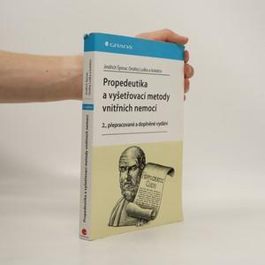 náhled knihy - Propedeutika a vyšetřovací metody vnitřních nemocí