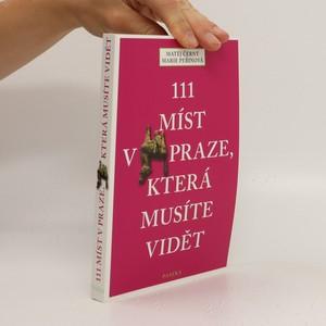 náhled knihy - 111 míst v Praze, která musíte vidět