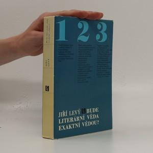náhled knihy - Bude literární věda exaktní vědou?