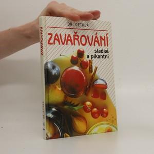 náhled knihy - Zavařování sladké a pikantní