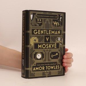 náhled knihy - Gentleman v Moskvě