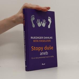 náhled knihy - Stopy duše aneb co o nás prozrazují ruce a nohy