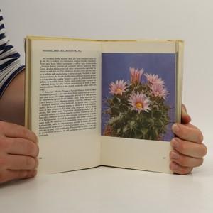 antikvární kniha O kaktusech, 1980