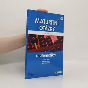 náhled knihy - Maturitní otázky - matematika