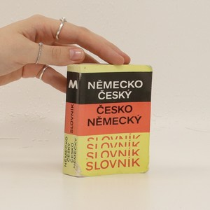 náhled knihy - Německo-český, česko-německý slovník