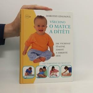 náhled knihy - Všechno o matce a dítěti
